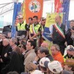 Una foto scattata durante il gemellaggio Carugate-Barisciano