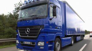 Tir-Mercedes