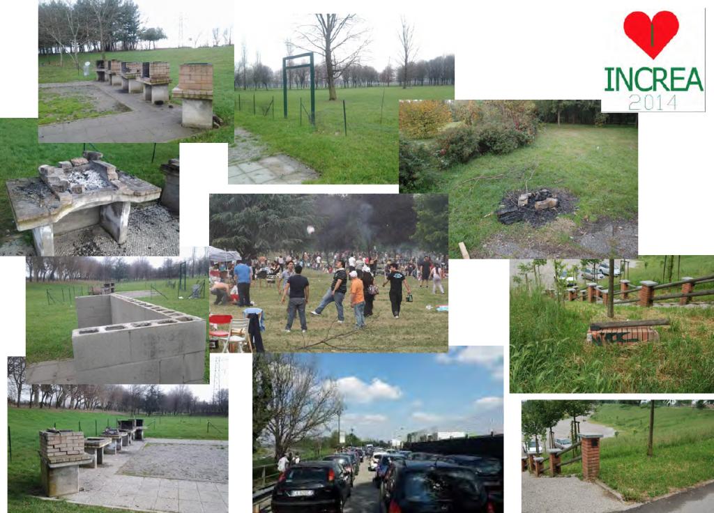 Alcune foto delle conseguenze lasciate dall'afflusso non regolato  di migliaia di persone, soprattutto durante il week end