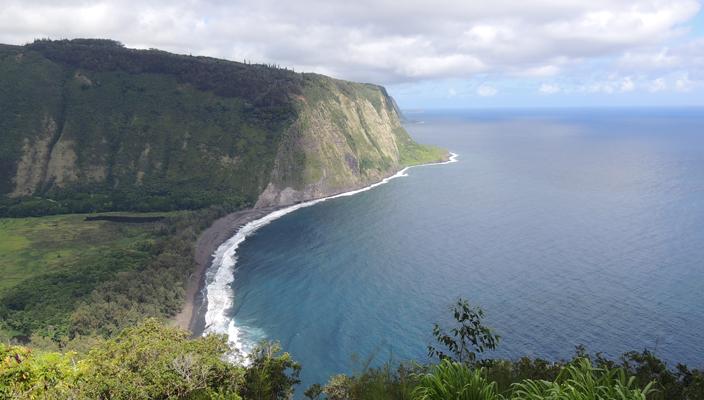 """In lizza per la categoria: """"foto scattata nel luogo più lontano""""  -  Matteo Tacconi - Aloha -Waipi'o valley - Hawaii"""
