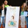 Il Segretario Lions Club Cologno Medio Lambro, Giuseppe Miani, con le premiate
