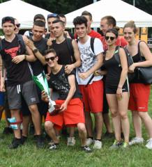 I ragazzi del Cag di Pessano, vincitori dell'edizione 2015 degli street games
