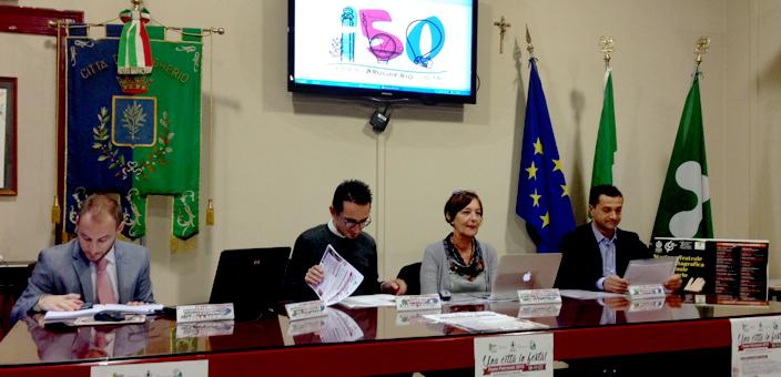Un momento della Conferenza Stampa di presentazione della Festa Patronale