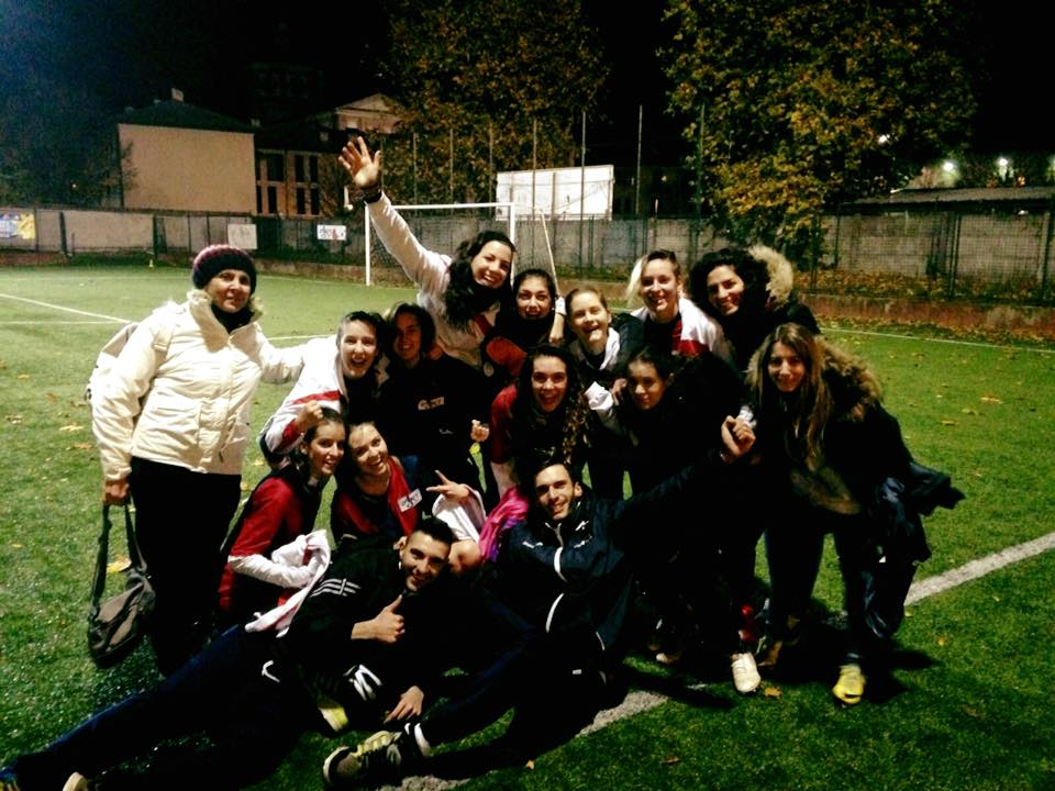 Calcio femminile 12 episodio la gioia immensa di una for B b misinto