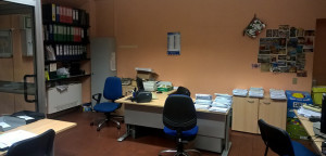 L'ufficio prima dei lavori