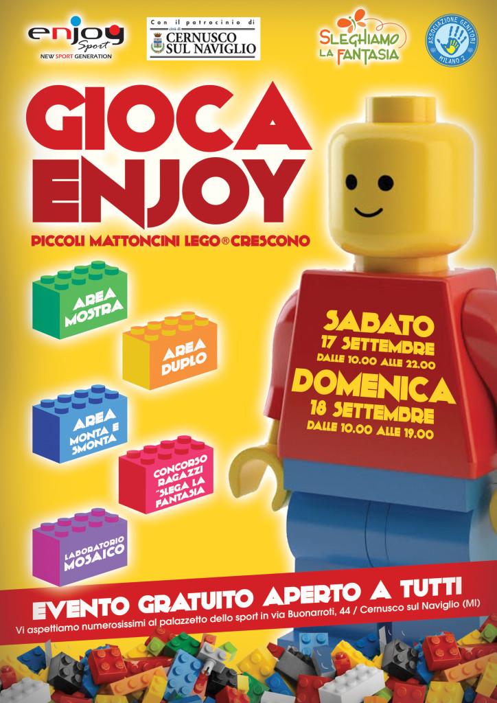 Cernusco torna l' evento creativo dell' anno: fantasia al potere con i mattoncini di lego