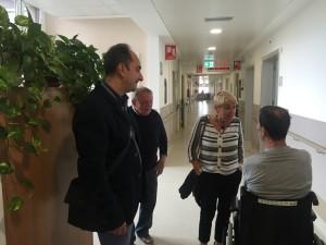 Gli assessori Sannino, Verderio e Ivana Broi