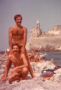 La prima vacanza insieme in Liguria nel 1981