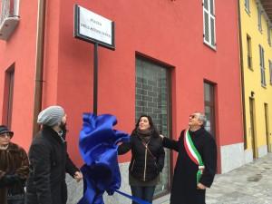 da sinistra, Andera Citterio, Emanuela Fabbro e Antonio Brescianini