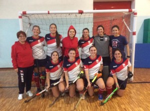 La quadra femminile di Hockey Cernusco