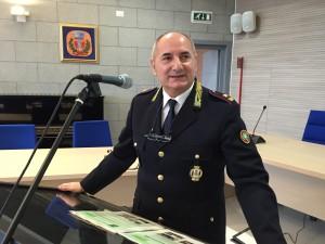 Gianni Pagliarini, comandante della Polizia Locale di Vimodrone
