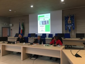 da sinistra, Gianni Pagliarini, Antonio brescianini e Carmela Rozza
