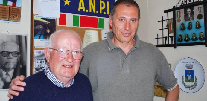 da sinistra, Aurelio Colombo e Franco Salamini