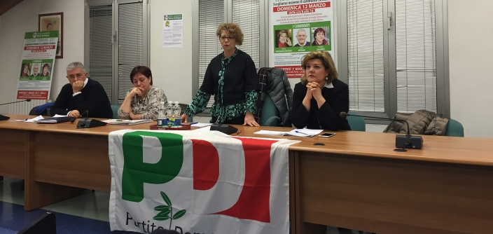 da sinistra, Dario Veneroni, Osvalda Zanaboni, Vania Gardinazzi e Aurora Impiombato Andreani