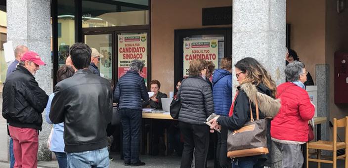 Sono 1571 gli elettori che che hanno votato alle primarie del centro sinistra