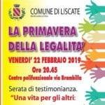 LISCATE-primavera LEGALITA