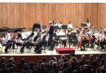 l'orchestra dell'indirizzo musicale I. C Montalcini di Cernusco sul Naviglio
