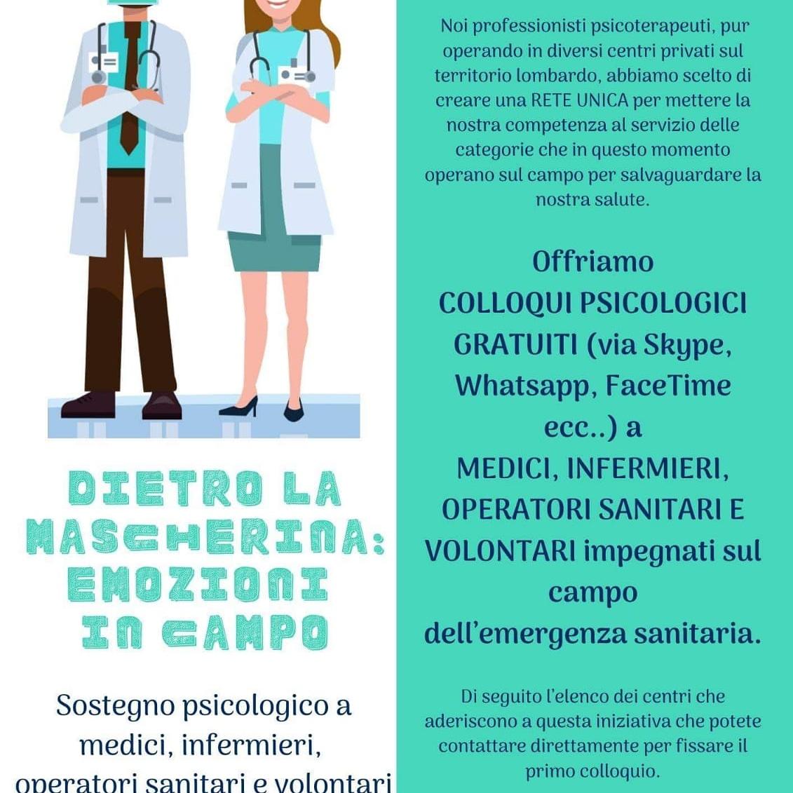 Coronavirus, teleconsulti gratuiti con psicologi e psicoanalisti