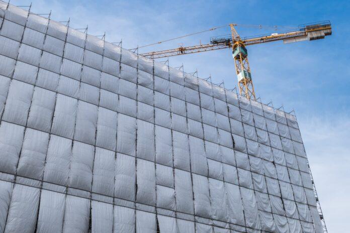 Building facade renovation
